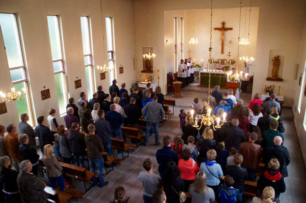 Vår Frue kirke har 501 polske medlemmer. De utgjør den største gruppen. <em>Foto: Olivia Knudsen</em>