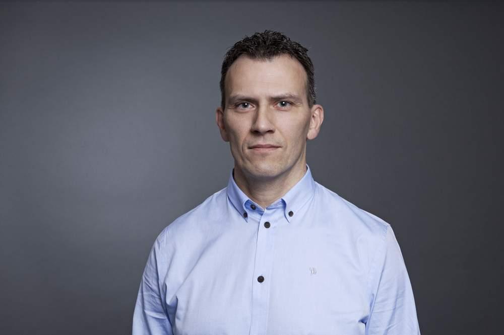 Klinikksjef: Henrik Erdal. FOTO: KRISTIN STØYLEN \/HELSE MR