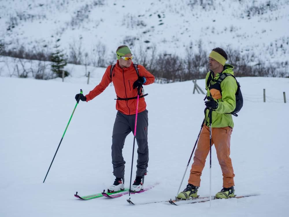 Stig og Håvard på tur sammen.Foto: Katrine Nordeide Kuiper.