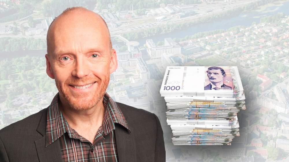 Utbyggingssjef Lars Abrahamsen var en viktig person for Helsebygg, som gav ham flere overlappende bonusordninger for å sikre at han ble i stillingen.  FOTO: Sykehusbygg \/ Grafikk: Sunnmørsposten