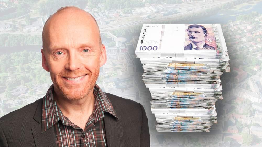 Utbyggingssjef Lars Abrahamsen var en viktig person for Helsebygg, som gav ham flere overlappende bonusordninger for å sikre at han ble i stillingen.  FOTO: Sykehusbygg / Grafikk: Sunnmørsposten