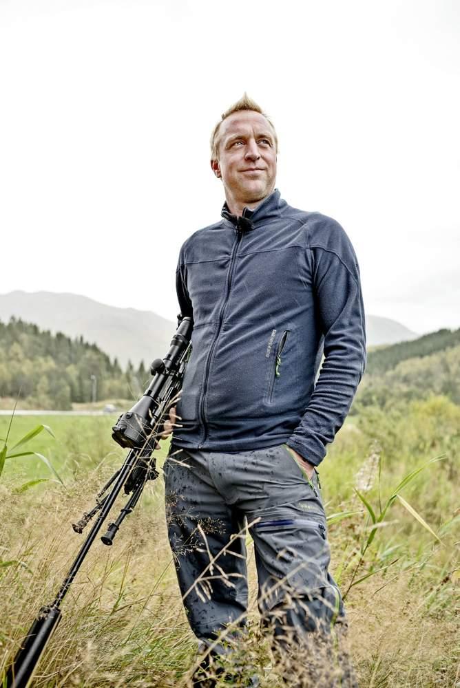 Egil Stavseng meiner det er greitt å byggje ei jakthytte som står i nokre år, og som har ein viss standard, når ein først byggjer.
